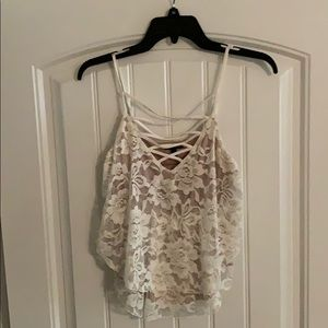 Express lace cami 🍂🍂🍂